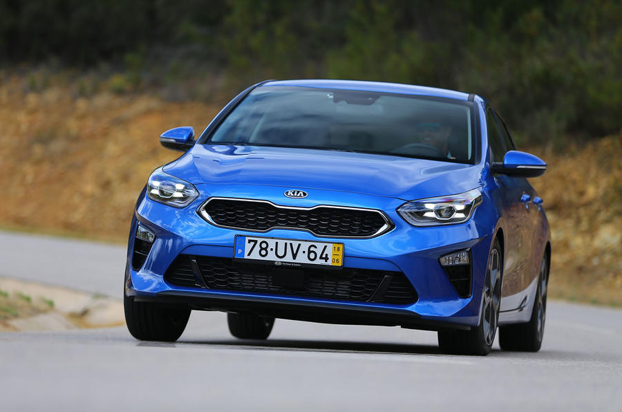 Kia Ceed 2018 first drive review cornering front