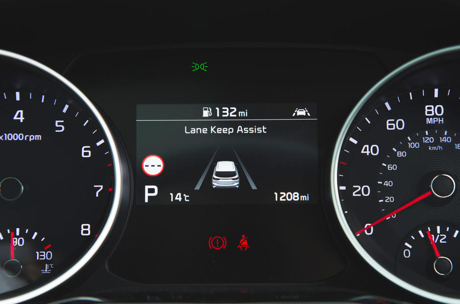 Kia Ceed 2018 long-term review - instrument cluster
