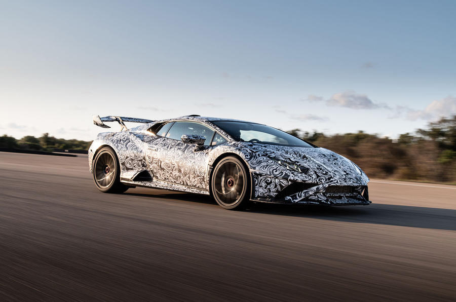Lamborghini Huracan STO 2020 first drive review - track front