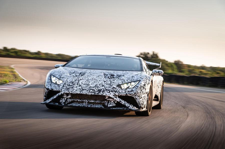 Lamborghini Huracan STO 2020 : premier bilan de conduite - track