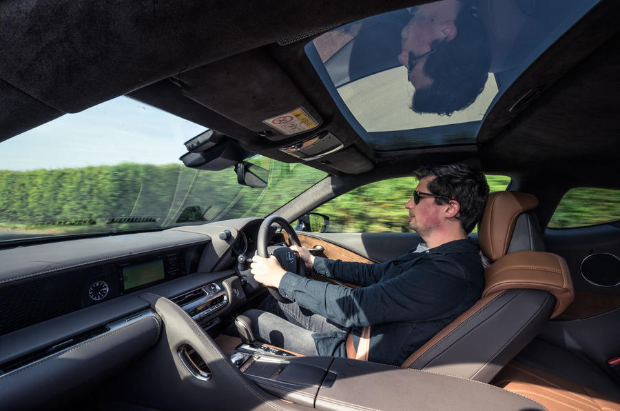 Lexus LC 500 Limited Edition 2020 UK first drive review - Tom Morgan driving