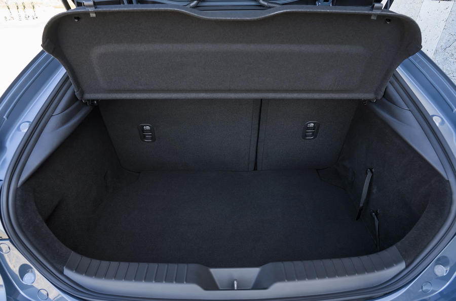 Mazda 3 2019 European first drive review - boot