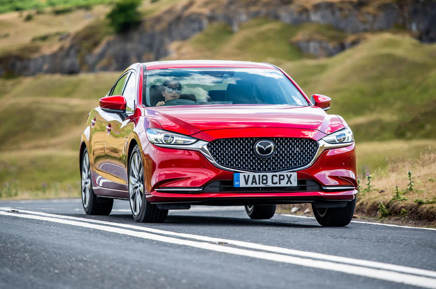 Mazda 6 2018 first drive review on the road front