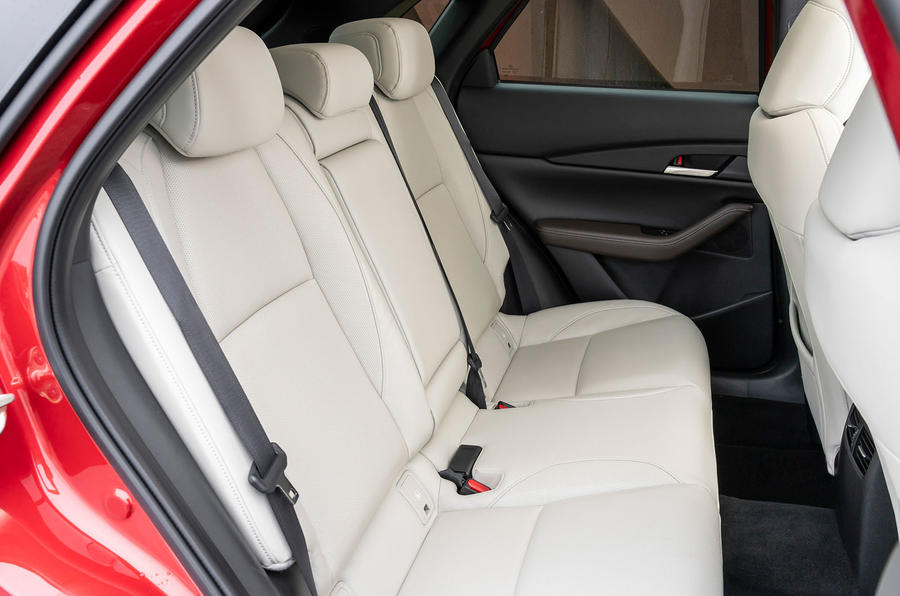 Mazda CX-30 2019 UK first drive review - rear seats