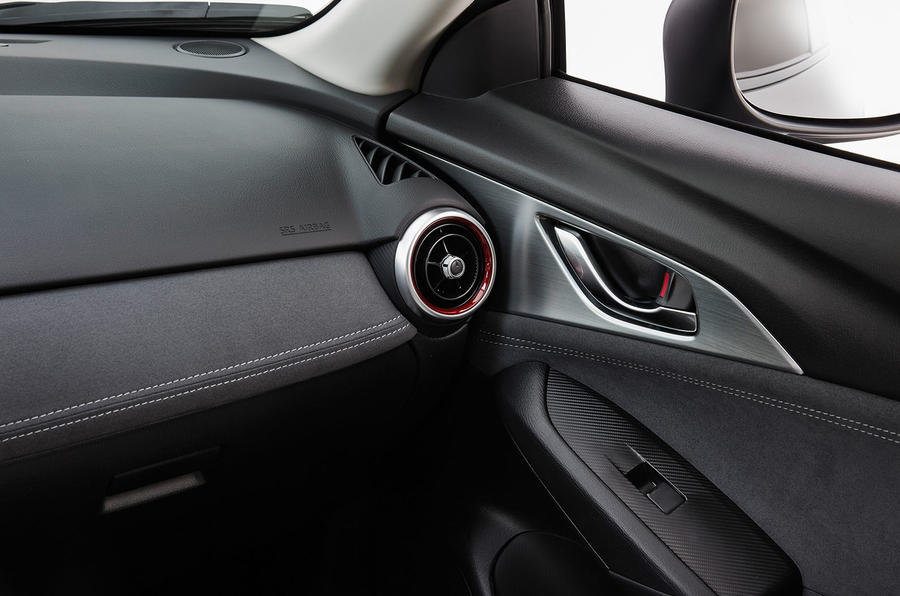 Mazda CX-3 2018 first drive review dashboard trim