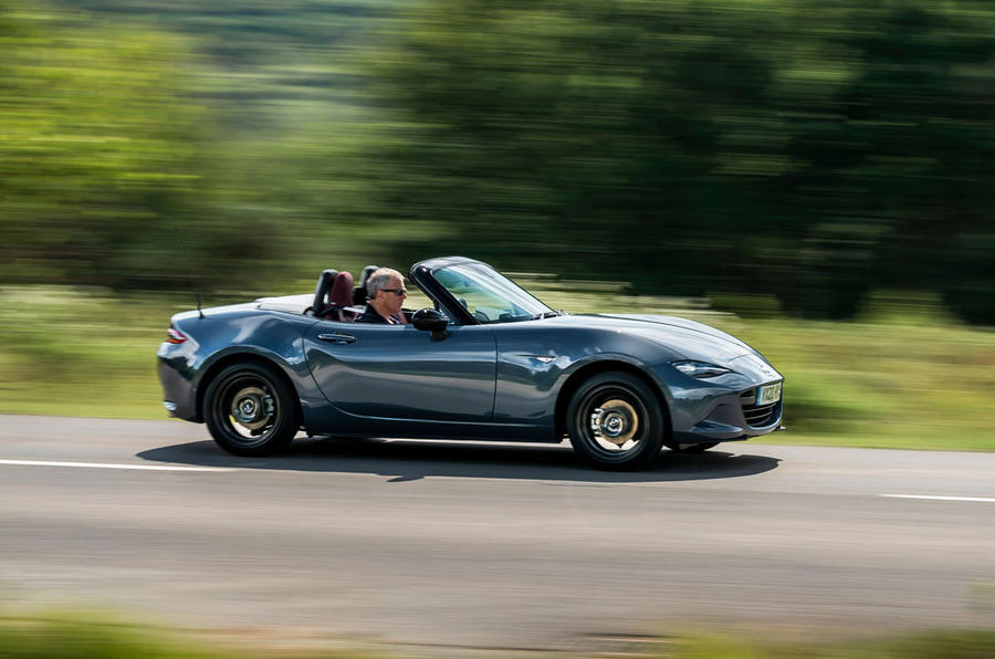 Mazda MX-5 1.5 R-Sport 2020 UK first drive review - on the road front