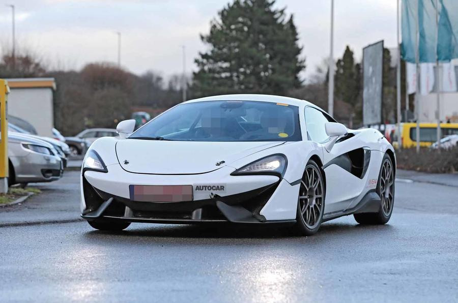 McLaren Sports Series Hybrid prototype front on