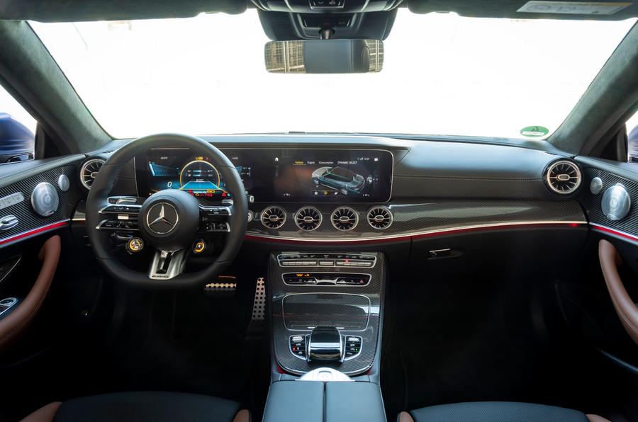 Mercedes-AMG E53 Cabriolet 2020 first drive review - dashboard