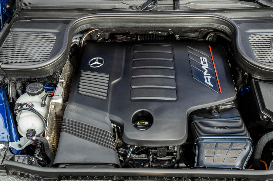Mercedes-AMG GLE 53 2020 first drive review - engine