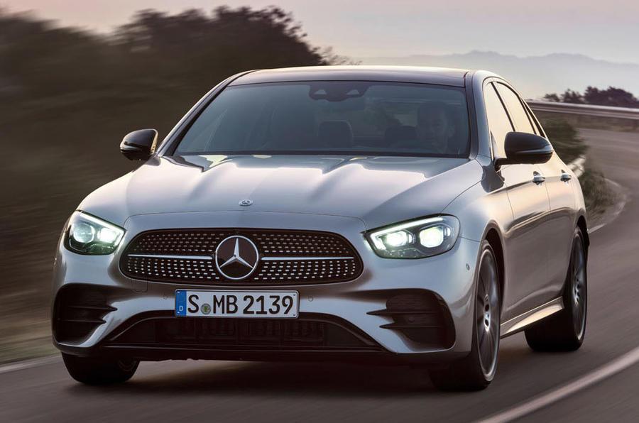 Mercedes-Benz E-Class 2020 - tracking front