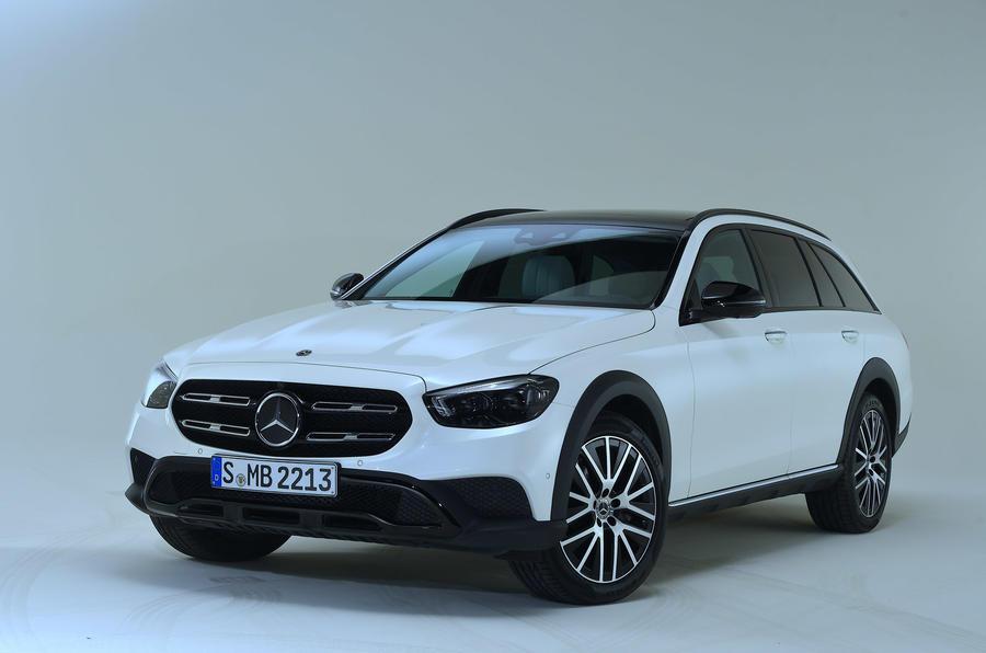 Mercedes-Benz E53 estate 2020 - stationary front