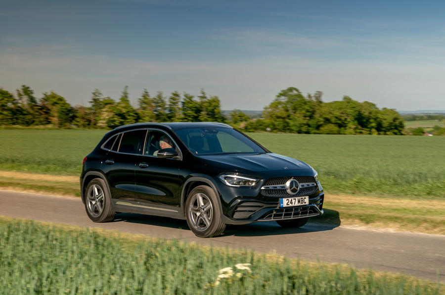 Mercedes-Benz GLA 220d 2020 UK first drive review - on the road front