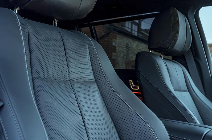 Mercedes-Benz GLS 400d 2019 UK first drive review - seat details