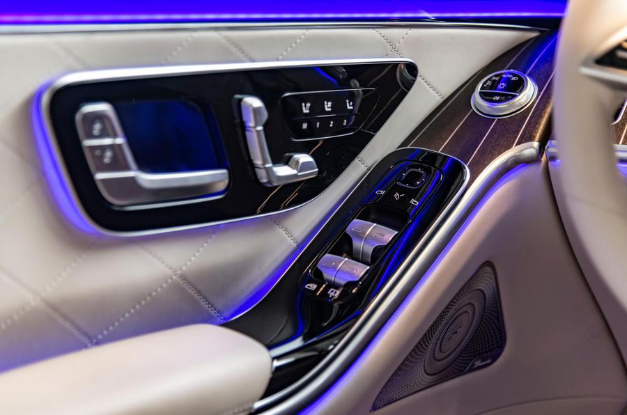 Mercedes-Benz S-Class S500 2020 first drive review - door cards