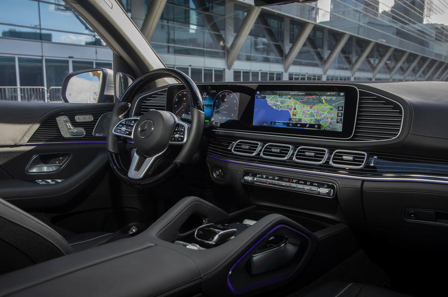 Mercedes-Maybach GLS 600 2020 first drive review - dashboard