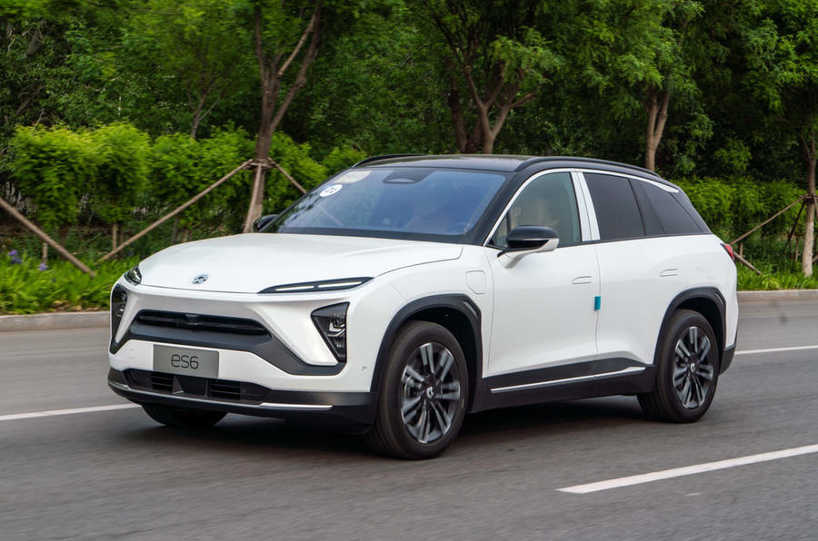 Nio ES6 2019 first drive review - on the road front