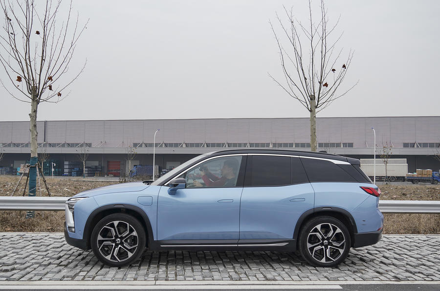 Nio ES8 2018 first drive review - static side