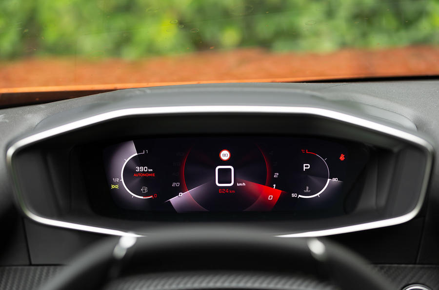 Peugeot 2008 2020 first drive review - infotainment