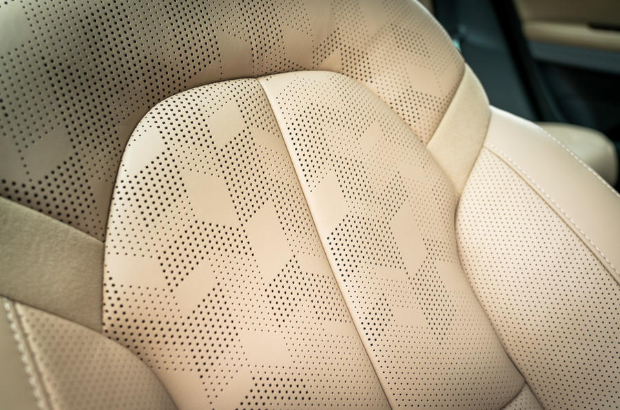 Polestar 2 2020 UK first drive review - seat details