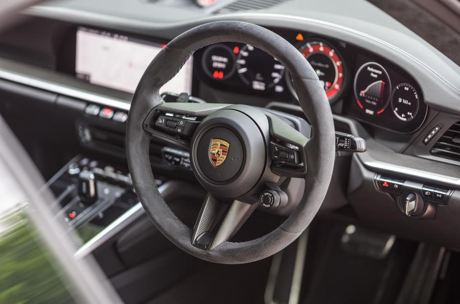 Porsche 911 Turbo S 2020 UK first drive review - dashboard