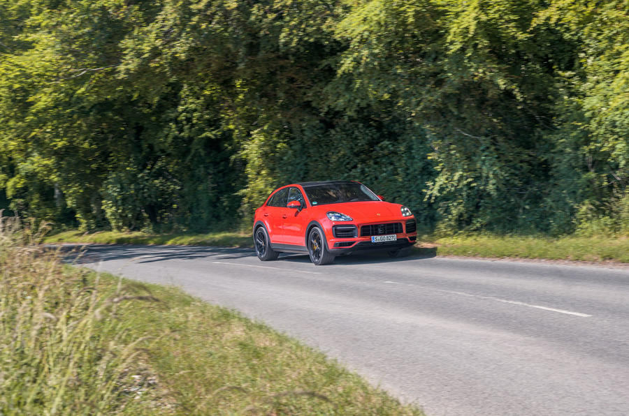 Porsche Cayenne GTS 2020 UK first drive review - on the road front