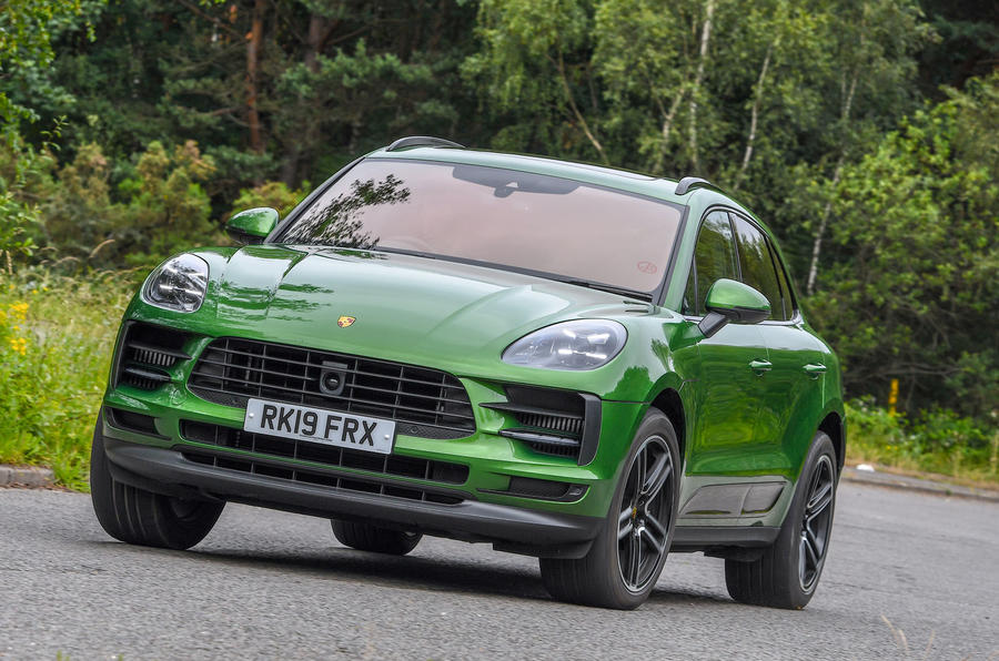 Porsche Macan S 2019 UK first drive review - cornering front