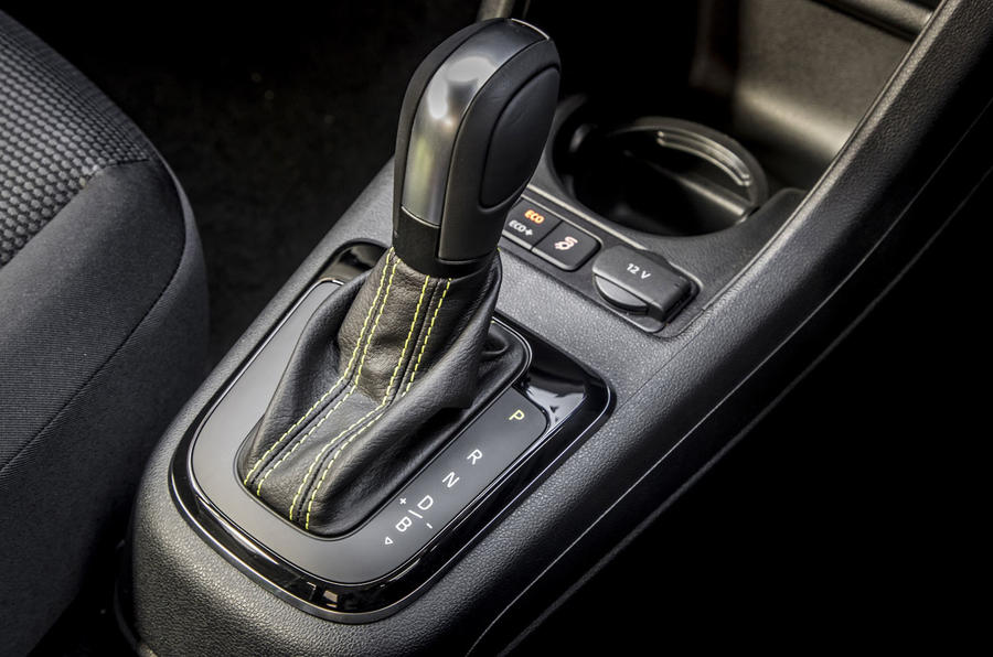Skoda Citigo-e iV 2020 UK first drive review - gearstick