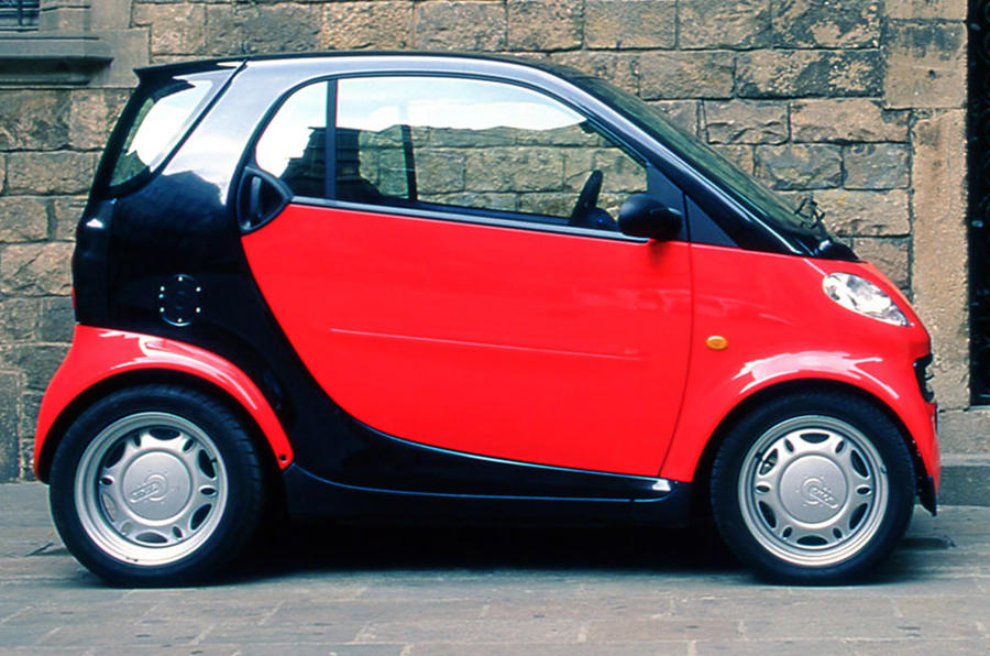Smart City Coupe - static side