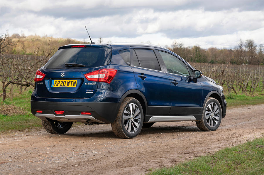 Suzuki SX4 S-Cross Hybrid 2020 UK first drive review - static rear