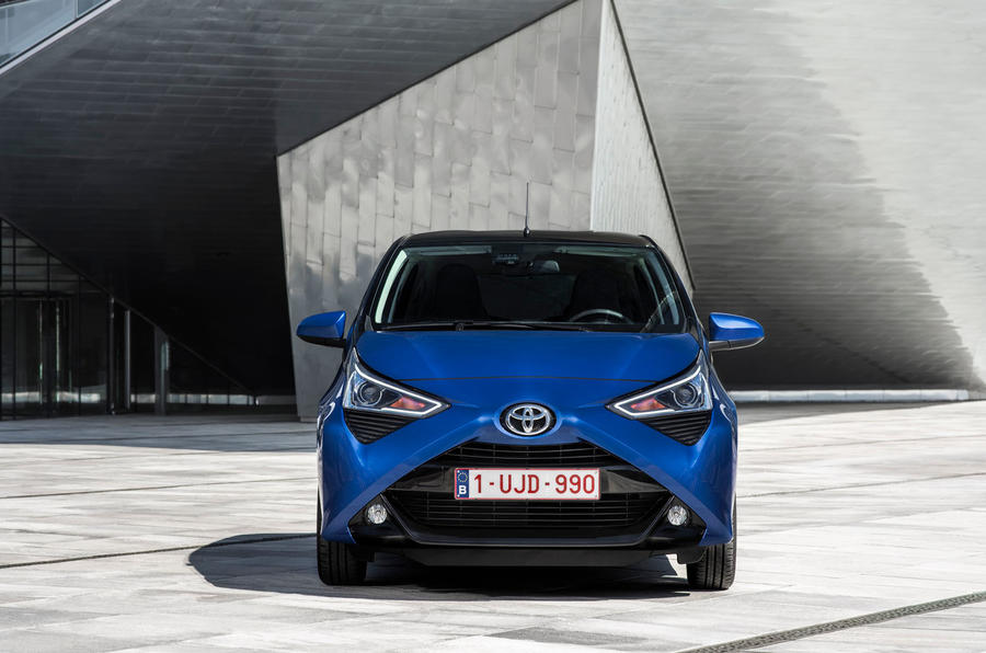 Toyota Aygo 2018 review static front