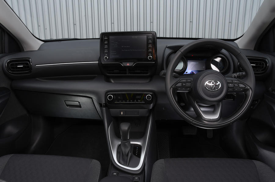 Autocar writers car of 2020: Toyota Yaris - dashboard