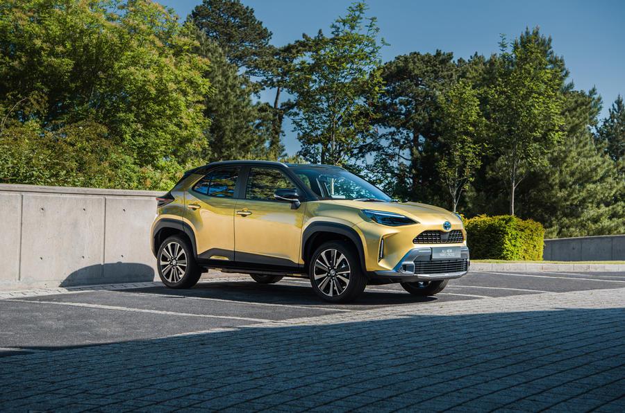 11 Toyota Yaris Cross 2021 UE LHD préprod avant statique
