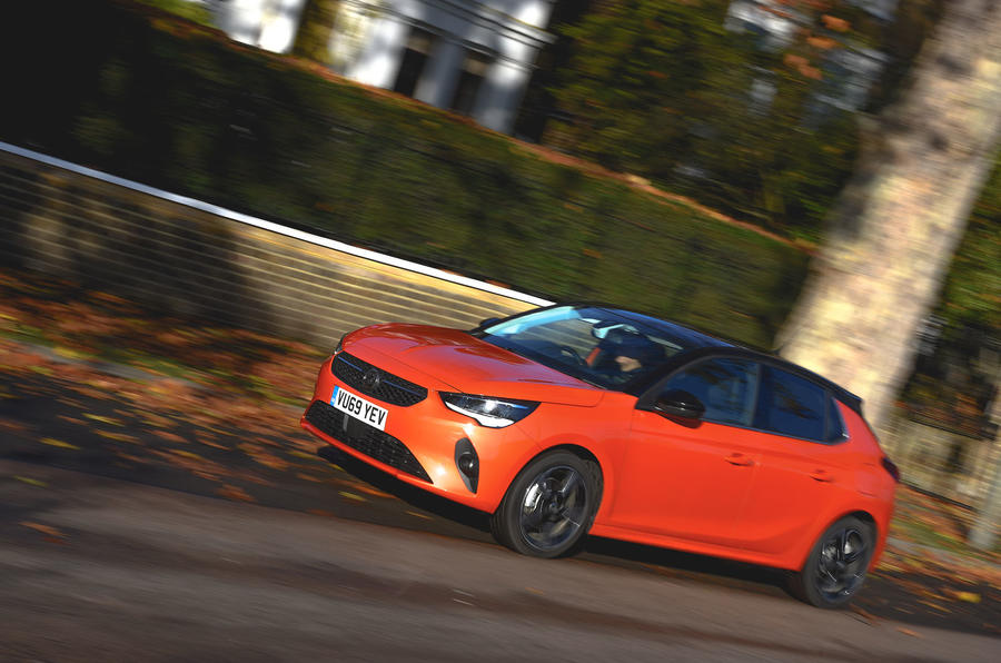 Vauxhall Corsa 2019 UK first drive review - on the road side