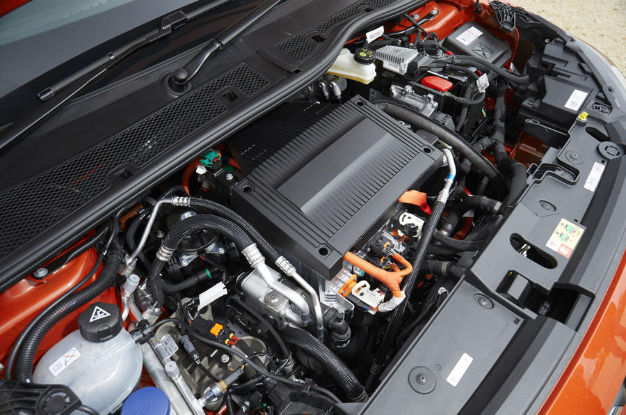 Vauxhall Corsa-e 2020 UK first drive review - engine