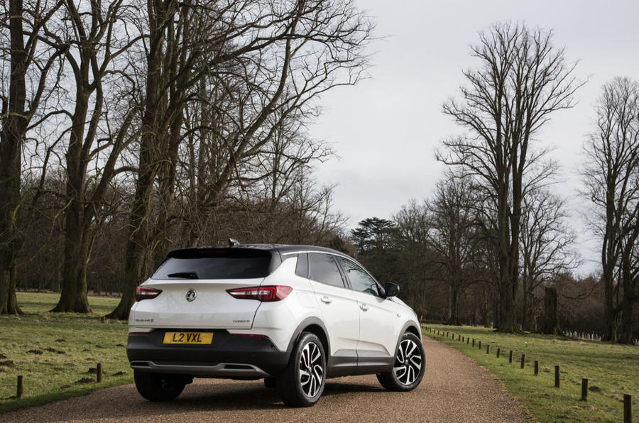 Vauxhall Grandland X 1.5 Turbo D 2018 first drive review - static rear
