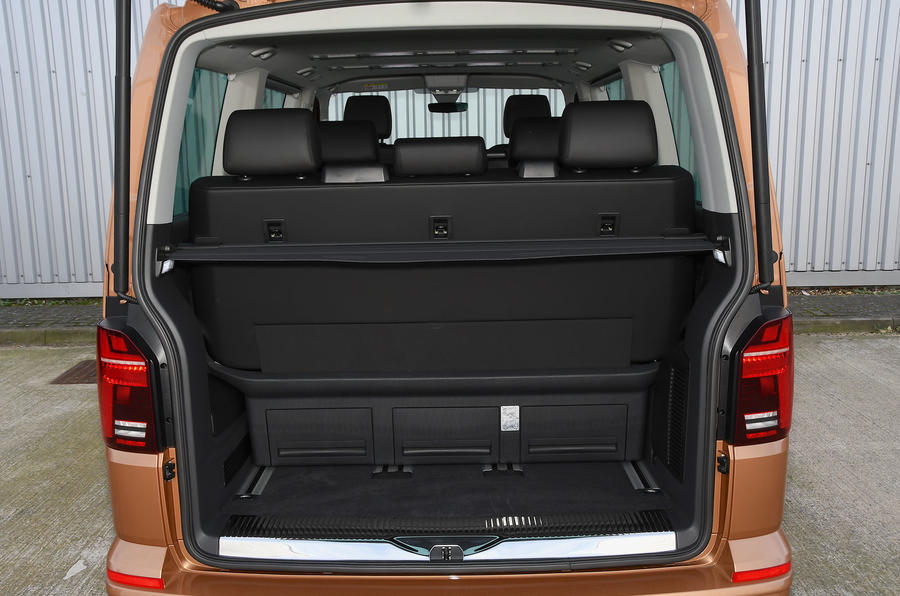 Volkswagen Caravelle 2020 UK first drive review - boot