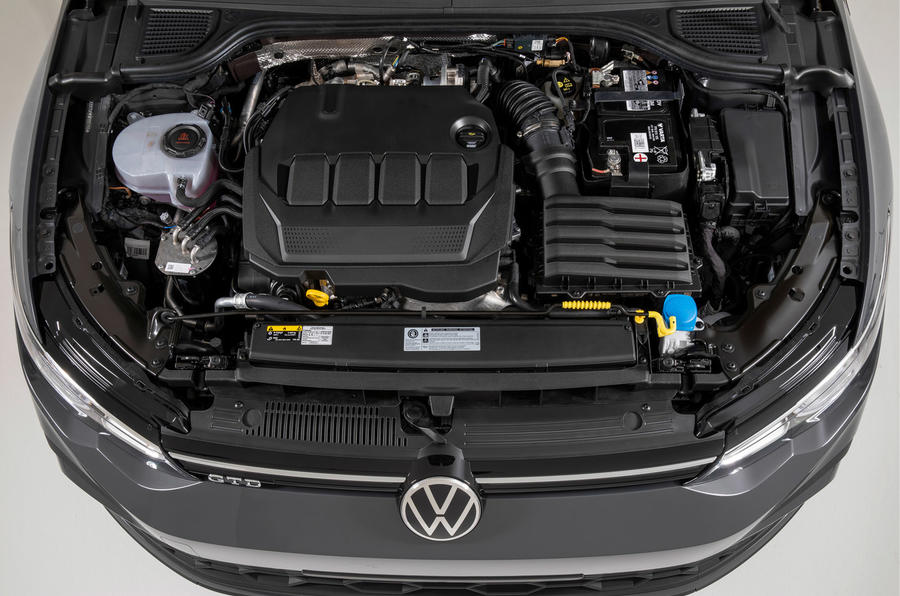 Volkswagen Golf GTI 2020 - engine