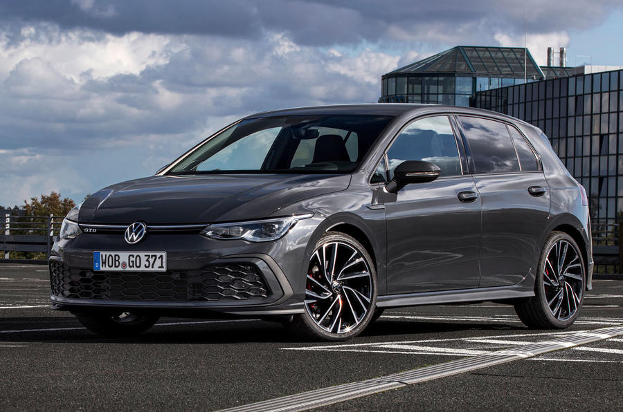 Volkswagen Golf GTD 2020 first drive review - static front