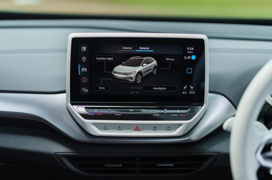 11 Volkswagen ID 4 2021 UE premier essai, revue infotainment