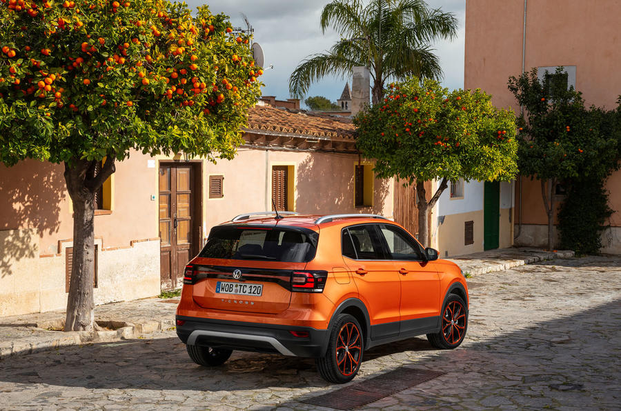 Volkswagen T-Cross 2019 first drive review - static rear