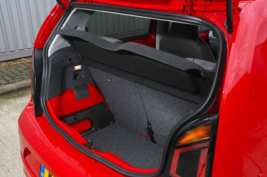 Volksawgen Up 1.0 2020 UK first drive review - boot