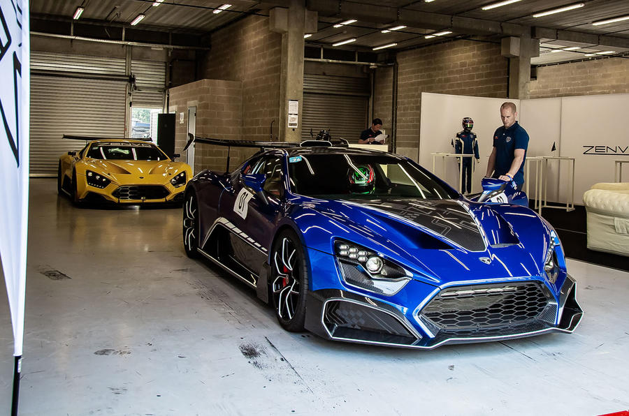 Zenvo TSR-S 2019 first drive review - pit garage
