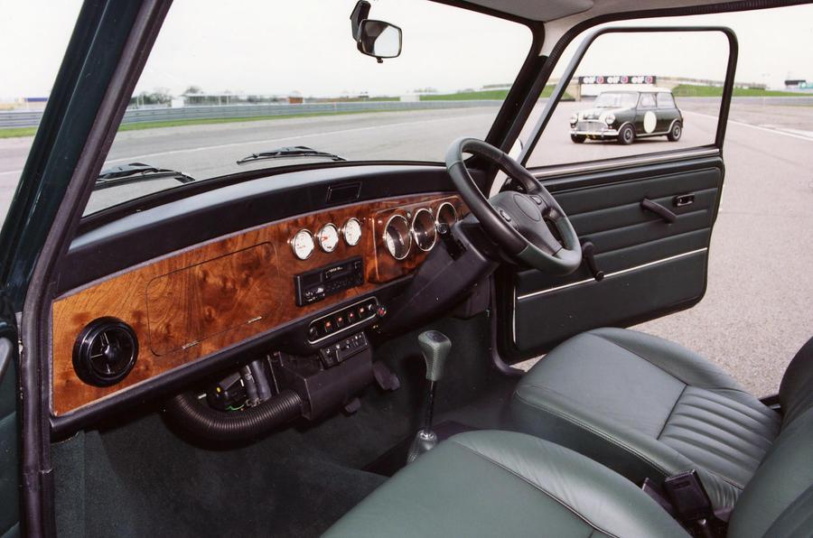 Rover Mini interior
