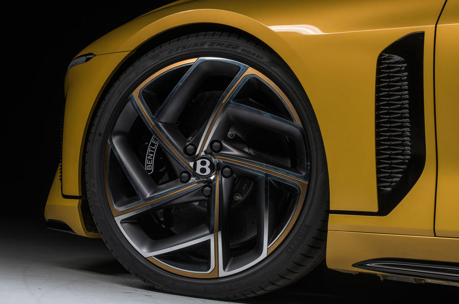 Bentley Bacalar 2020 - wheel