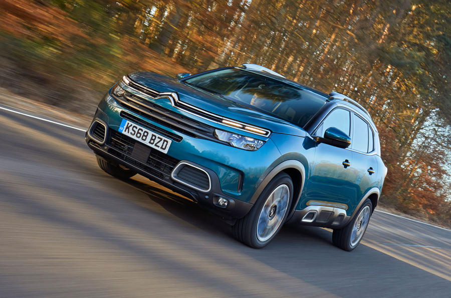 The success of SUVs such as the Citroen C5 Aircross helped PSA Group to record profits