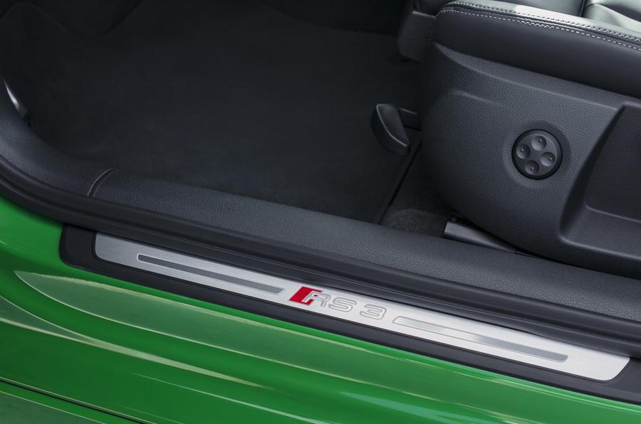 Audi RS3 Saloon kickplate