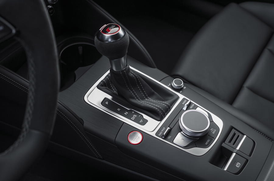 Audi RS3 Saloon S-tronic gearbox