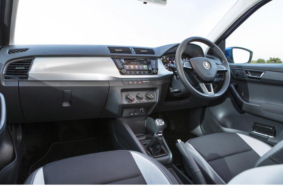 2015 skoda fabia 1 0 mpi 75 first drive review autocar. Black Bedroom Furniture Sets. Home Design Ideas