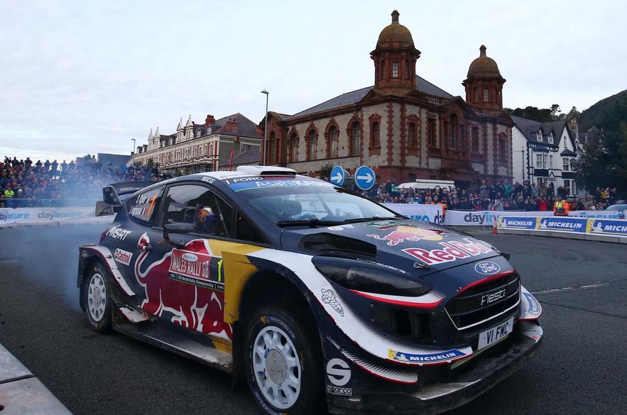 Sebastian Ogier at Wales Rally GB 2018