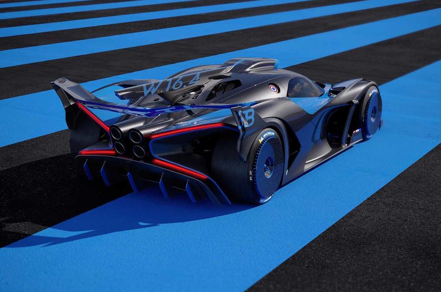 Bugatti Bolide rear high
